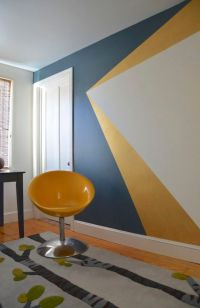 25+ best ideas about Geometric Wall on Pinterest | The ...