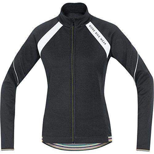 gore bike wear womens warm fleece soft shell road cycling jacket gore windstopper power lady