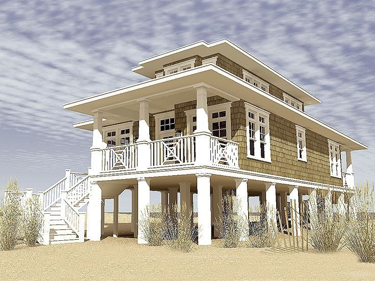 Beach House Plans & Coastal Home Plans  The House Plan