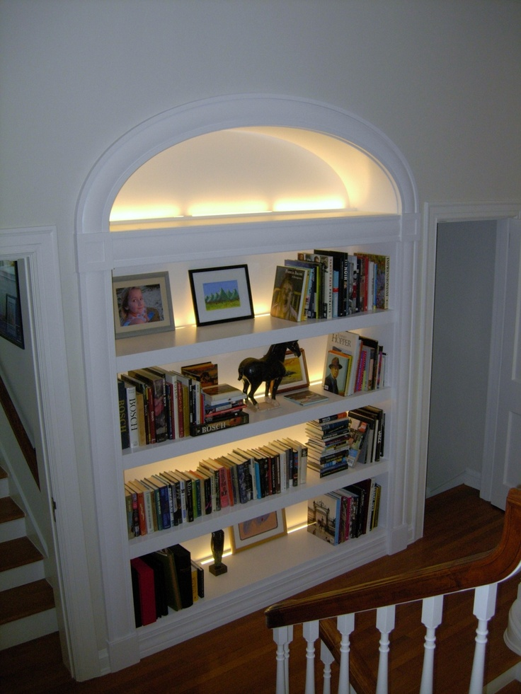 25 Best Ideas About Bookcase Lighting On Pinterest Led