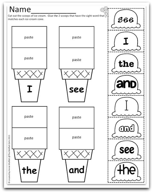 736 best images about Kinder Sight Word Ideas on Pinterest