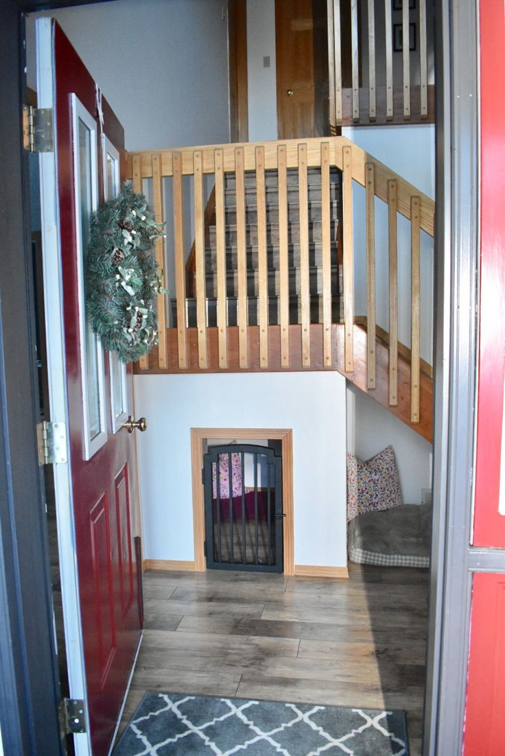 25 Best Ideas About Custom Dog Gates On Pinterest Farmhouse Dog Gates Dog Gate With Door And
