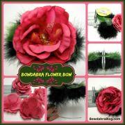 bowdabra flower bow diy tutorial