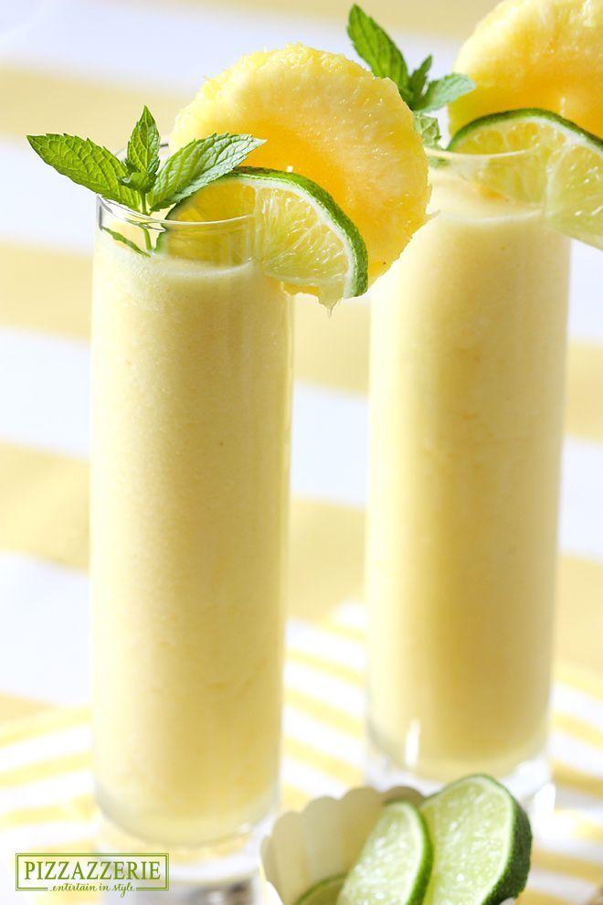 Frozen Pineapple Cooler Recipe – SO refreshing!