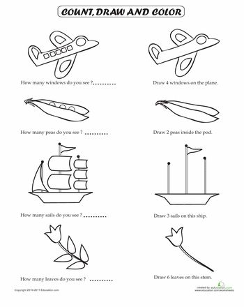 30 best images about Preschool Worksheets on Pinterest