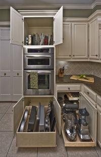 Best Kitchen Storage Cabinet Glide Out Shelves Storage ...