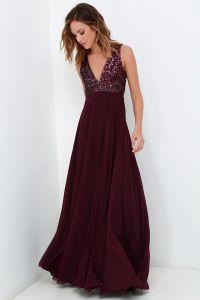 25+ best ideas about Plum Prom Dresses on Pinterest | Dark ...