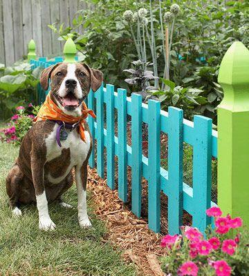 25 Best Ideas About Small Fence On Pinterest Flower Garden