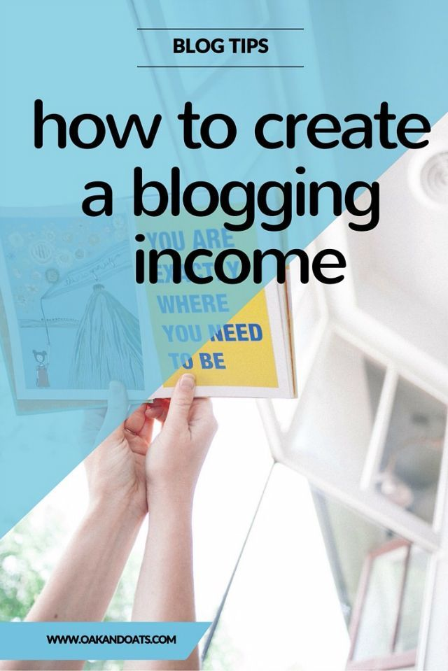 Want to make Money Blogging? This post has everything you need to know you create your own income for blog