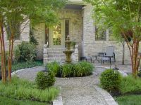Charming Improved French Garden | garden, walkway & fence ...