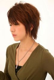 short shag haircuts women 2013