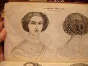 curated 1855 - 1865 hair ideas