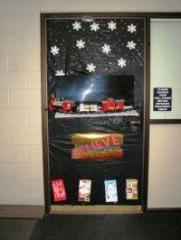 The Polar Express | Christmas Door Decorations | Pinterest ...