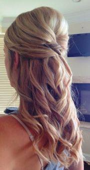 wedding - maid of honor hair