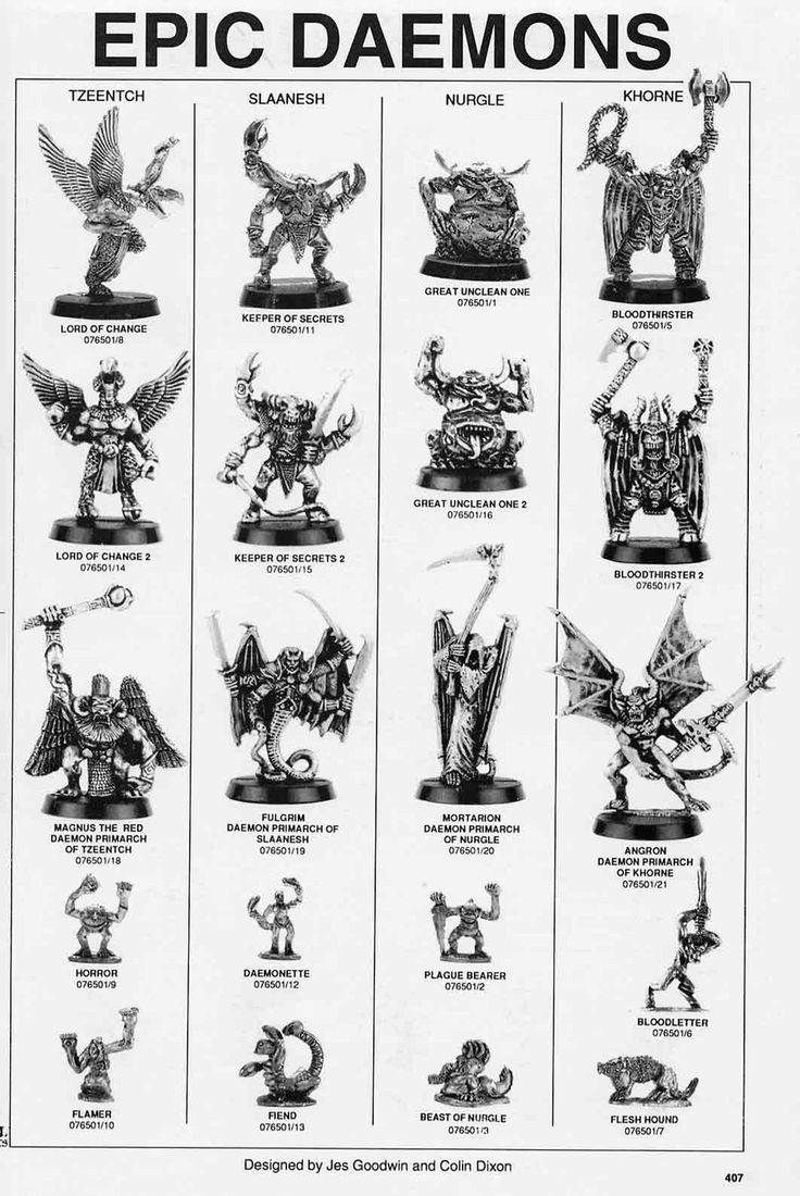 13 Best images about Chaos Gods & Deamons on Pinterest