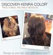 filled with kenra color copper