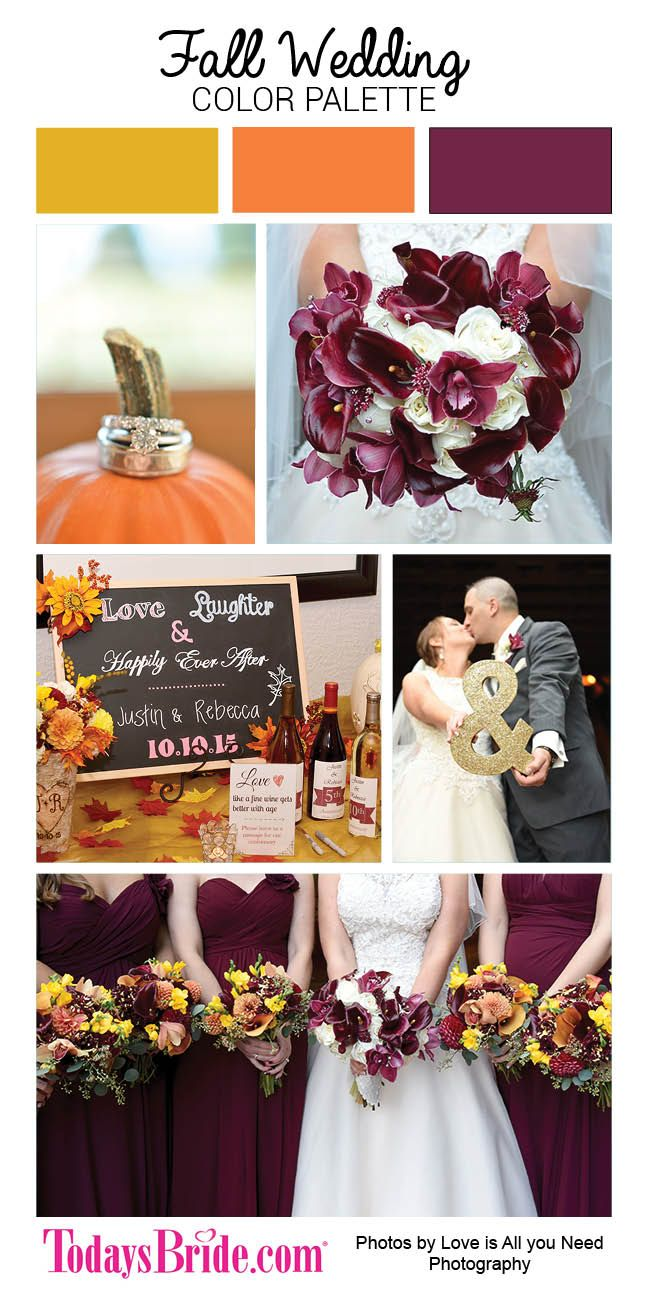 1000 ideas about Fall Wedding Colors on Pinterest  Wedding Colors Weddings and Fall Wedding
