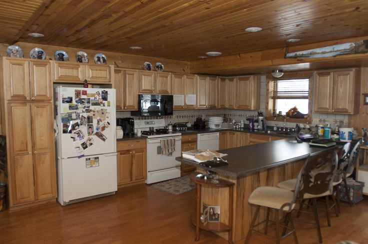 layout open plan kitchen living room interior designing ideas for small morton buildings home in mendota, illinois ...