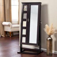 standing cheval mirror jewelry armoire | Jewelry Storage ...
