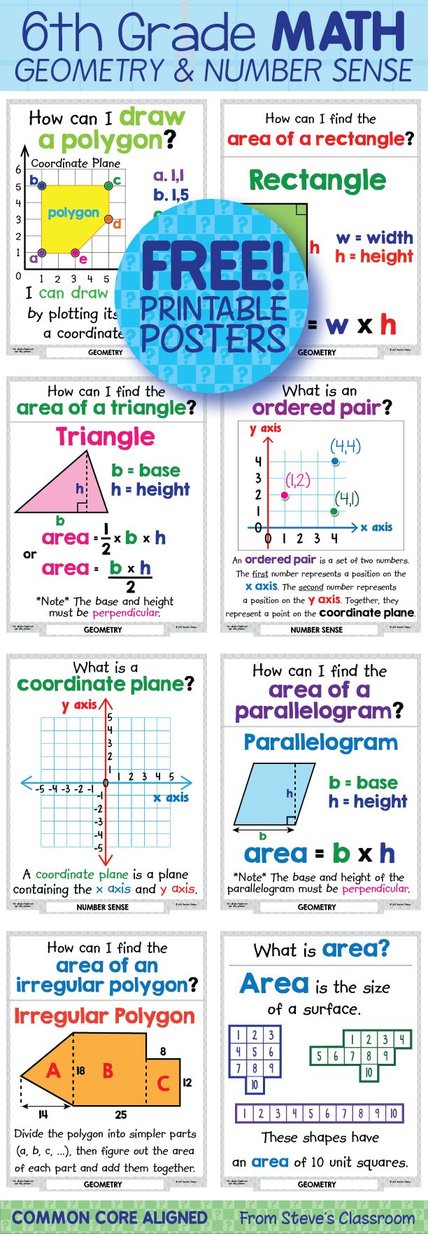 1000+ Images About 6th Grade Math On Pinterest  Math Websites, Box Plot And Surface Area