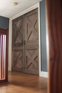 AGAIN! Wooden Barn Door. Unique Handmade Interior Rustic ...