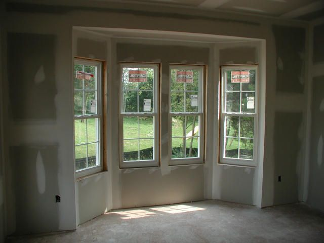 bring the bay window to the floor  dining room option for