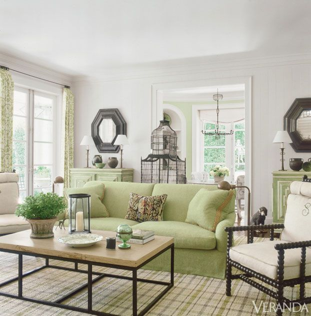 16 best images about Decorating Ideas for Celery green sofas on Pinterest  Green walls House