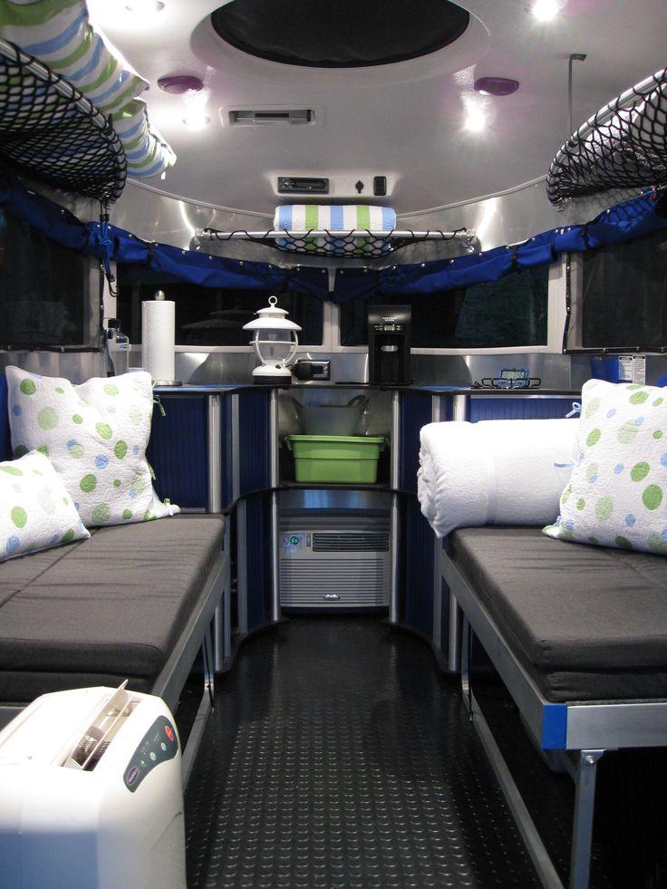 Airstream Basecamp Interior Rv S Camping Pinterest