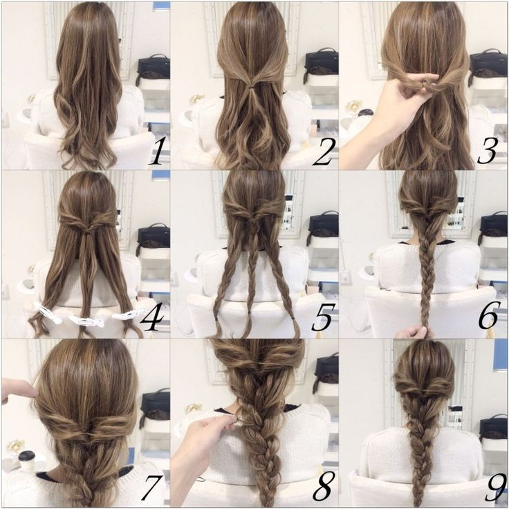 25 Best Ideas About Easy Braided Hairstyles On Pinterest Long