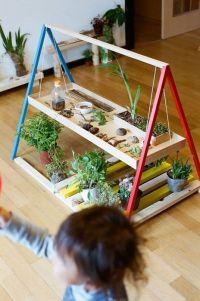 indoor kids plant / garden workbenchGardens Kids, Gardens ...