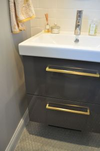 High Gloss Grey Bathroom Tiles With Amazing Innovation In ...