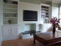 built in shelving around chimney breast | Living Room ...