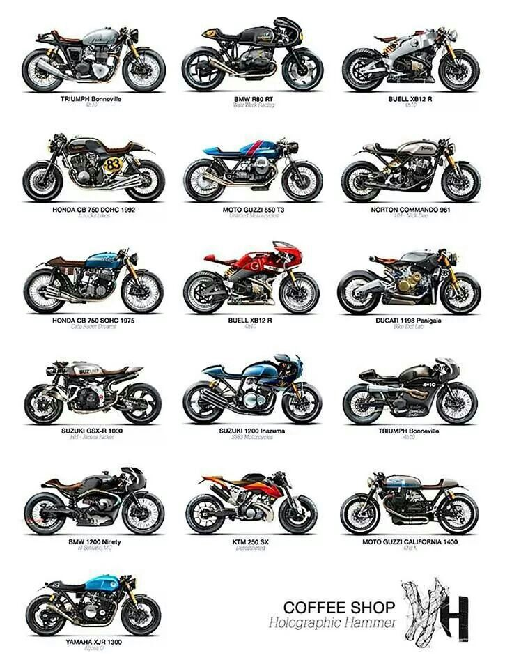 195 best images about cafe racer on Pinterest