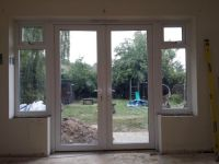 Details about 1800MM X 2100MM WHITE PVC uPVC FRENCH DOOR ...
