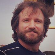 robin williams full beard and moustache