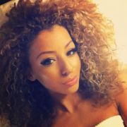 honey blonde curly hair color