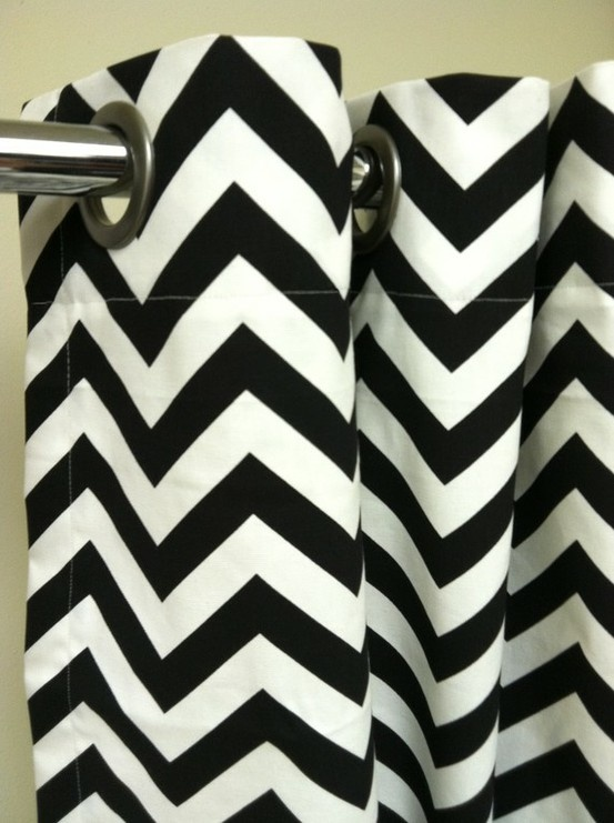 The 25 Best Ideas About Chevron Shower Curtains On Pinterest
