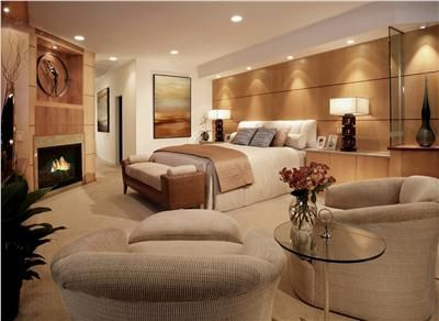 Elegant Contemporary Bedroom By Lisa Turner  Contemporary