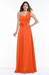 Only best 25+ ideas about Tangerine Bridesmaid Dresses on ...