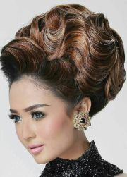 ideas big updo