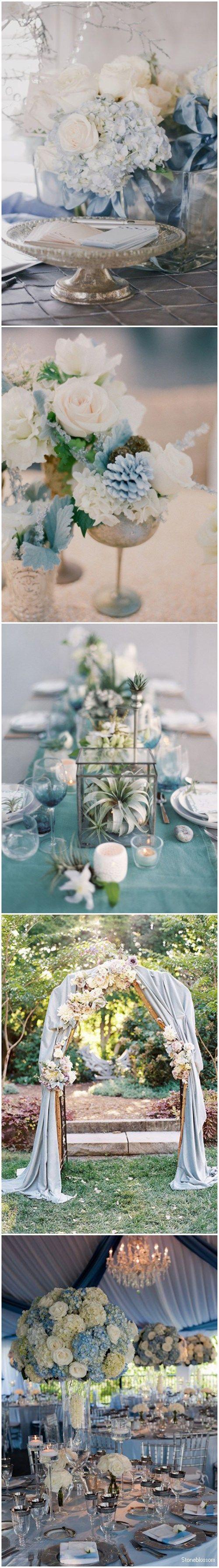 17 Best ideas about Dusty Blue Weddings on Pinterest
