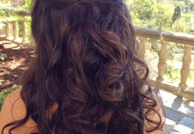 Bridesmaids Hairstyles Half Up Half Down
