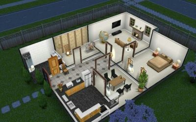 sims freeplay designs layout houses floor sim simple layouts plans casas play cool level haus minecraft modern floors apartment architecture