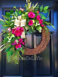 25+ best ideas about Floral wreaths on Pinterest | Wreaths ...