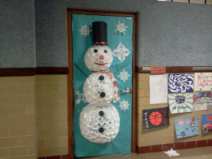 Holiday Door Decorations. Excellent Holiday Door