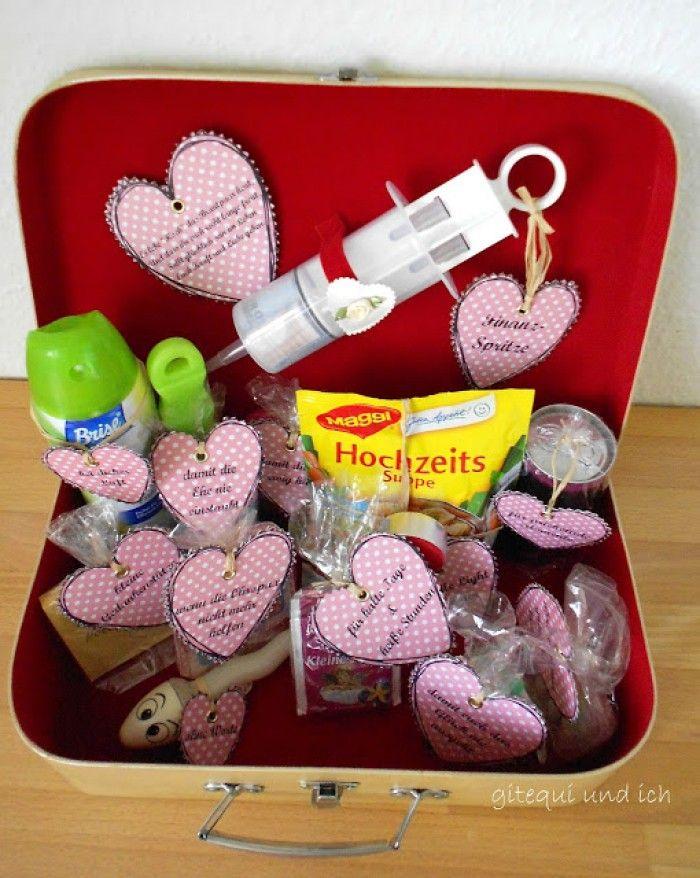 Tolle Geschenkidee fr ein persnliches Hochzeitsgeschenk Noch mehr Ideen gibt es auf wwwSpaaz