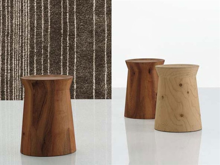 Round Solid Wood Coffee Table DAMA By POLIFORM Wooden