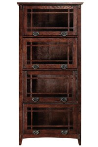 Antique Barrister Bookcase - WoodWorking Projects & Plans