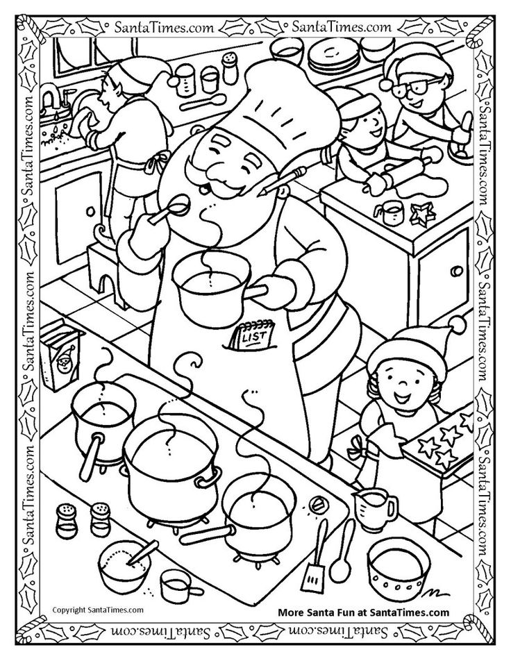 75 best images about Printable Christmas Coloring and