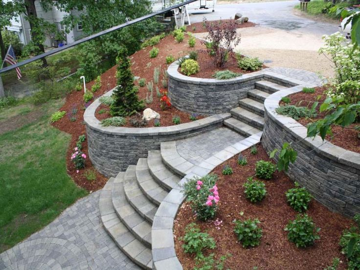 720 Best Images About Retaining Wall Ideas On Pinterest Diy